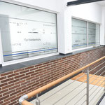 Leitsystem  |  Beschilderung und Beschriftung Dr. Berns Laboratorium (Gebäude, Büros, Labors etc.)