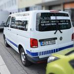 2021-07  |  Fahrzeugbeschriftungen für mehrere VW T6 des Dr. Berns Laboratoriums