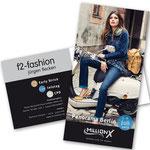 Kundenmailing  |  Einladung der f2-fashion zur Messe Panorama Berlin