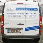 Fahrzeugbeschriftung  |  Beschriftung der Dr. Berns Fahrzeugflotte