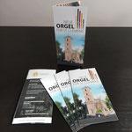Flyer  |  Spendenaktion des Katholischen Kirchengemeindeverbands Niedererft für eine neue Kirchenorgel