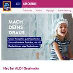 2021-07  |  Produktpräsentation, Retuschen und Grafikerstellung für den Webshop aldi-geschenke.de