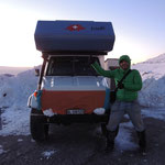 "Friedlis ""Kälteschutz"" auf 2300m"