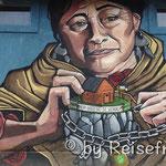 Wandbild in El Hoyo