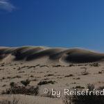 Sanddünnen bei der Playa Pardelas