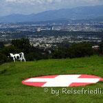 Cabanna Suiza oberhalb Guatemala City