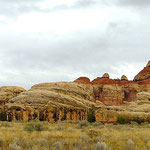 Regenwanderung im Needles District