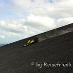 Sandboarden auf dem Cerro Negro
