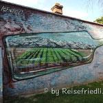 Wandbild in Mendoza