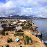 Schwimmende Inseln auf dem Titicacasee