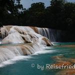 Agua Azul Wasserfälle