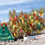 Weihnachtsdeco kurz vor Oatman