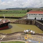 Miraflor-Schleuse am Panama Kanal