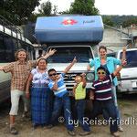 Familie in San Pedro
