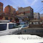 Verkehr in El Alto La Paz