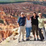 Im Bryce Canyon mit Freunden aus der Schweiz