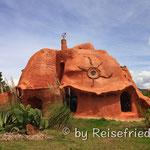 Terracota-Haus nähe Villa da Leyva