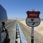 Unterwegs entlang der Panamericana