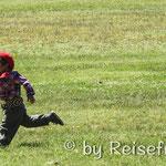 Junger Gaucho am Kirschenfest