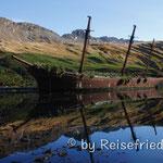 Schiffwrack im Oceanharbour