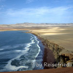 Küstenlandschaft bei Paracas