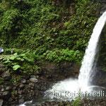 Wasserfall auf dem Weg zum Vulkan Poas