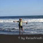 An der Küste in Monterrico