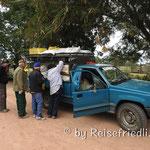 Der fahrende Marktstand in Rosaleda