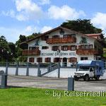 Stellplatz am Lago Arenal beim Hotel Heros