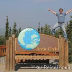 Überquerung des Arctic Circle