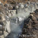 Der Wasserkanal von Banos Allicùn
