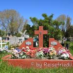 Typisches Bild eines Friedhofs