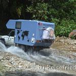 Unterwegs auf dem Trampolin del muerte (Foto Trailsurfers)