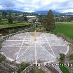 Äquator-Denkmal bei Cayambe