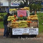 Strassenverkäufer in Paraguay