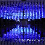 In der Kirche von Brasilia