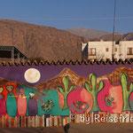 Wandbild in Cafayate