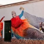 Wandmalerei in Cachi