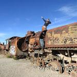 Eisenbahnfriedhof nähe Uyuni