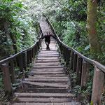 615 Stufen zur Laguna de Chichabal