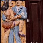 Wandbild in Palermo