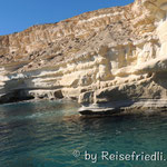 Weisse Felsen von Las Negras