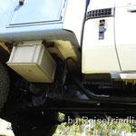 Chassis ist lakiert um Friedli vor Rost zu schützen