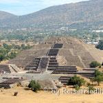 Mondpyramide in Teotihuacan