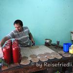 Lederwaren werden hergestellt in Atyrá