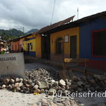 Baustelle in Copán