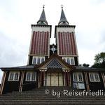 Kirche in Panguipulli von einem Schweizer Architekten