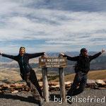 Wanderung auf den Mount Washburn