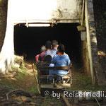 Auf dem Weg in die Mine Passagen