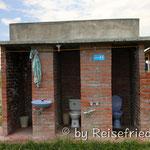 Toilette in der Wüste von Tatacoa